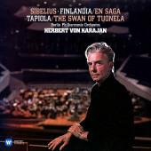 Herbert von Karajan, Berlin Philharmonic Orchestra - Sibelius: Finlandia - En Saga, Tapiola - The Swan Of Tuonela (2Lp)