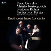 David Oistrakh, Mstislav Rostropovich, Sviatoslav Richter, Herbert von Karajan, Berliner Philharmoniker - Beethoven: Triple Concerto