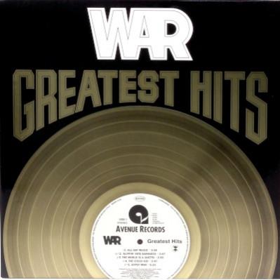 War - Greatest Hits (Limited Edition, Coloured Vinyl) винил