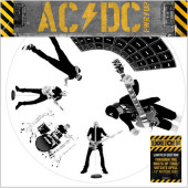 """Ac/Dc - Through The Mists Of Time / Witch's Spell (Picture Vinyl, 12"""" Vinyl Single)"""